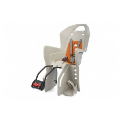 Child bike seat Polisport Koolah FF Cream/orange