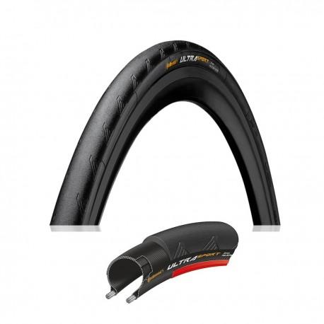 Continental Ultra Sport II 700x25C Black/Red Wire