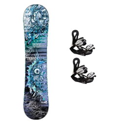 TRANS Pirate bluen Junior + TRANS ECO XS/S bindings