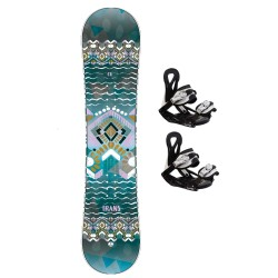TRANS CU girl Junior + TRANS ECO XS/S bindings