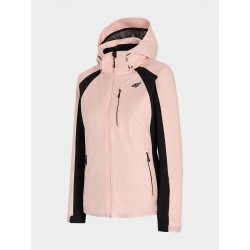 4F Women's ski jacket Powder pink
