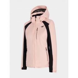 4F Women's ski jacket Powder pink